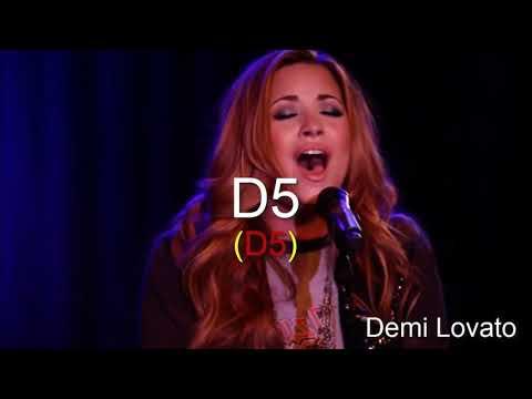 High Notes - D5 Battle - Female Singers