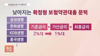 보험약관대출 금리 줄줄이 인하…'빚투' 우회 대출처되나…