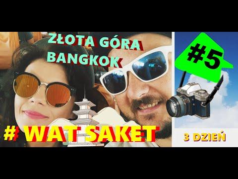 TAJLANDIA Vlog #5 Bangkok, Wat Saket - Złota Góra - Gold Mount, Chinatown.