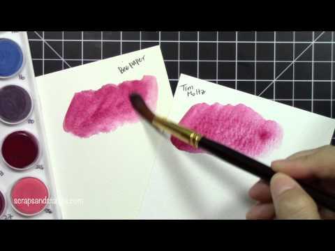 Watercolor Paper Comparison