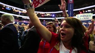 RNC: Floor View of Balloon Drop!