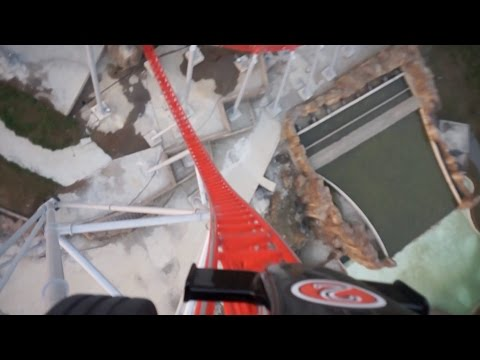 Nefeskesen POV Launched Intamin Roller Coaster at Vialand Park, Istanbul, Turkey