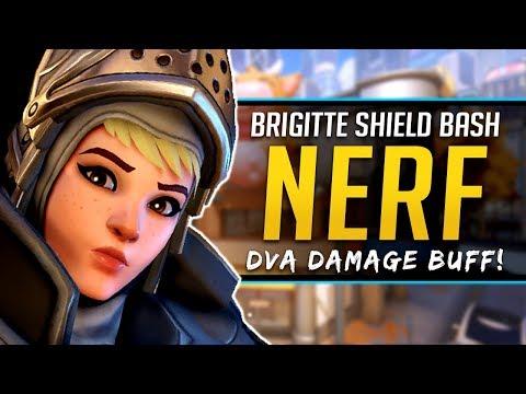 Overwatch Brigitte NERF - Dva BUFF - New Map Busan & more!