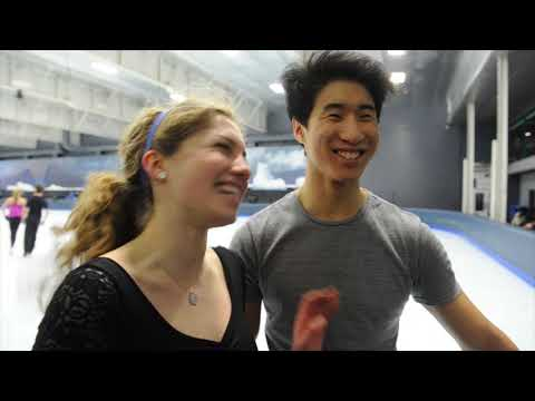 B.C. pair train for figure skating championships