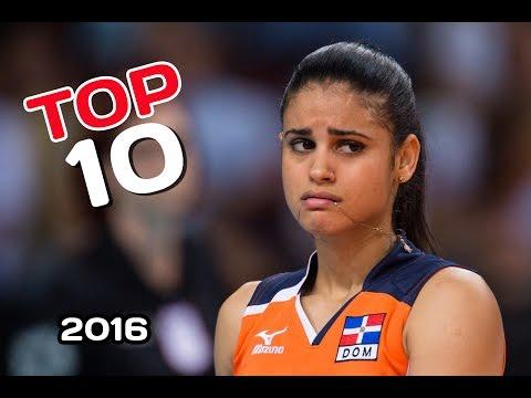 Топ-10 самых красивых действующих  волейболисток планеты. 2016