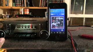 1972 Plymouth Scamp Radio Conversion PT4 SiriusXM iPhone Streaming