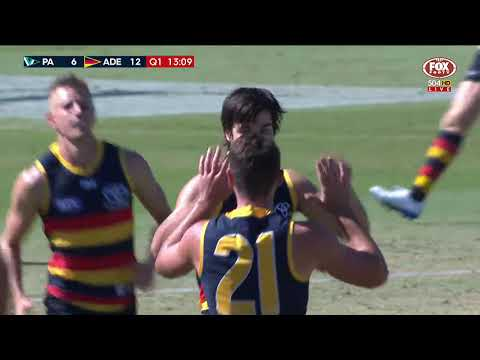 Darcy Fogarty kicks two early goals - AFL JLT Series 2018