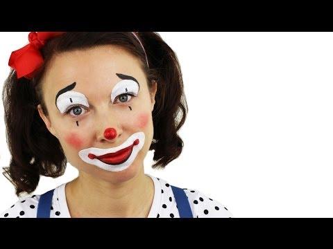 Beginners Clown Face Painting Tutorial | Snazaroo