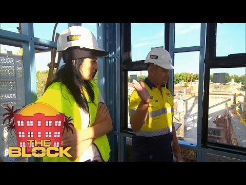 Will the girls in the penthouse finish in time? | The Block 2018