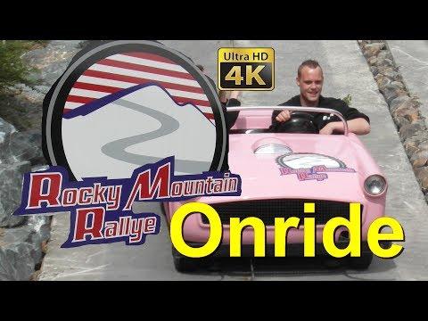 Rocky Mountain Rallye (4K Onride - POV) Fort Fun Abenteuerland - Beverly Hills Drive