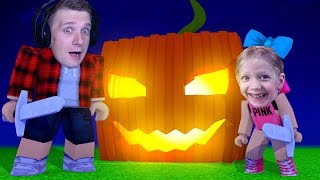 Looking for a giant PUMPKIN on Halloween in ROBLOX #1 our new Pet Privedene of Milan and Pope at FFGTV