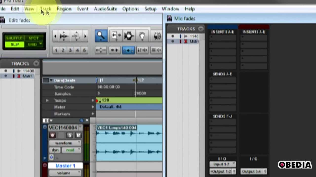 Avid Pro Tools Tutorial - Routing multi-outs