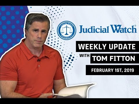 Tom Fitton: 'Air Pelosi' Travel Abuse Update, Roger Stone & Mueller, the Border Wall, & More!