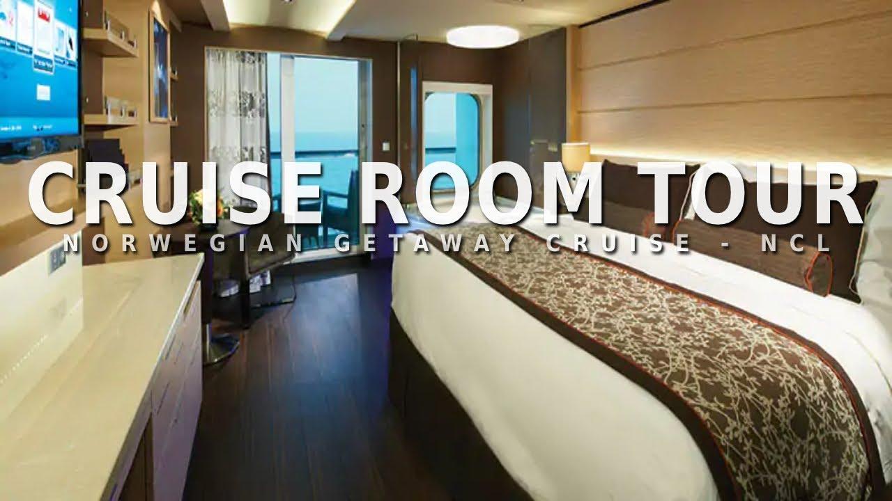 Norwegian Getaway Cruise Balcony Room Tour