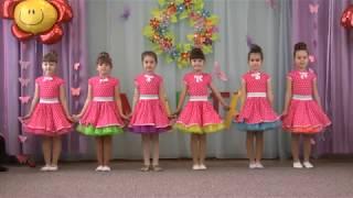 """Танец девочек """"Хорошие девчата"""". Утренник """"8 Марта"""".  Старшая группа детсада № 160 г. Одесса 2016"""
