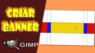 Fazer Banner para Canal do Youtube no Gimp