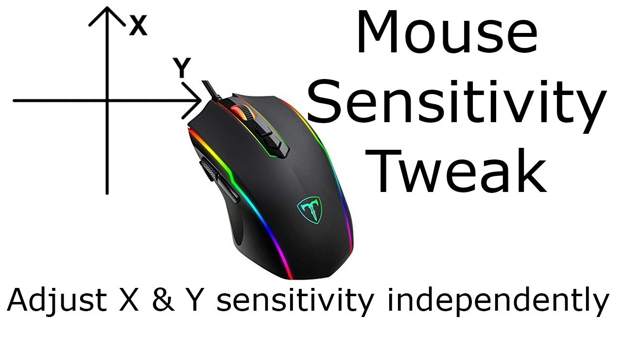 Mouse Sensitivity Tweak (Adjust X and Y Sensitivity independently in  Minecraft)