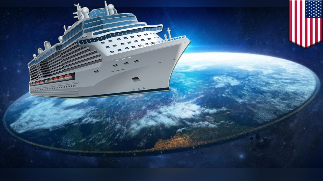 Flat Earth Cruise - but there is a Problem!