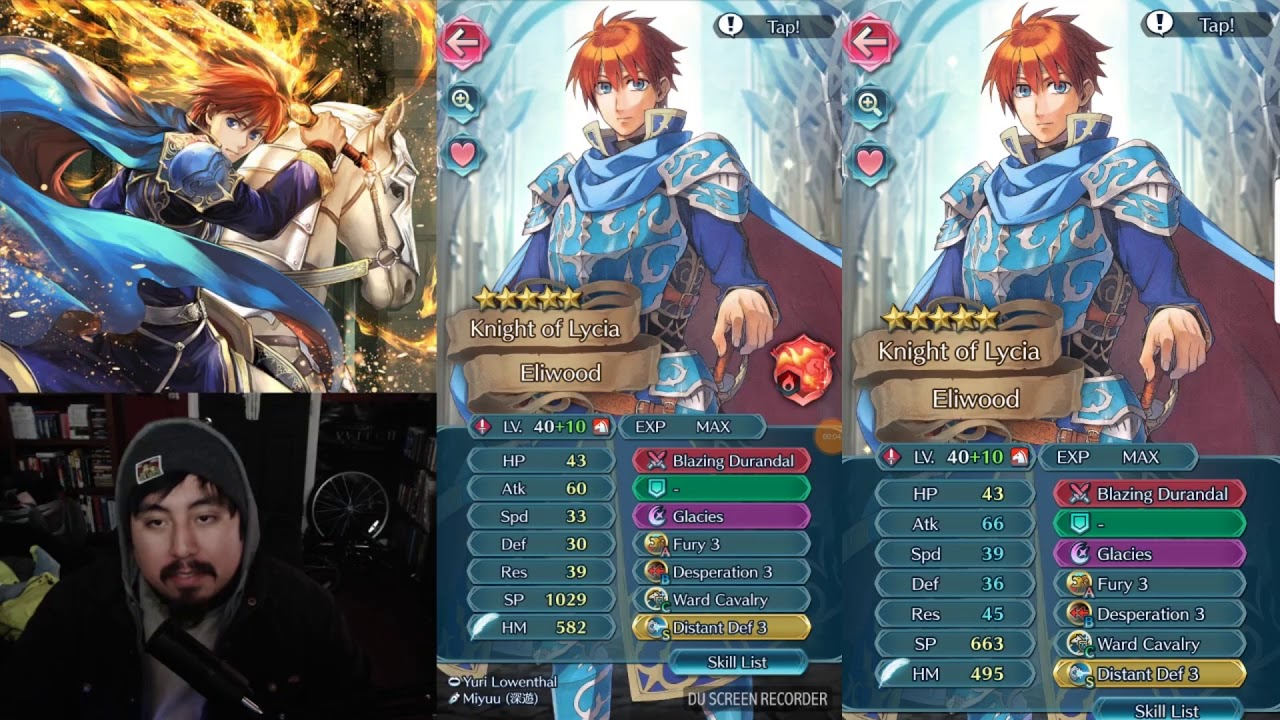 Eliwood showing his son Roy how its done!
