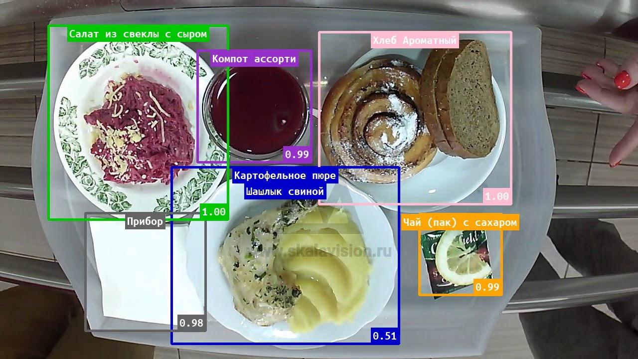 SkalaVision - распознавание блюд для касс столовых recognition for cafeteria