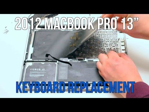 "2012 Macbook Pro 13"" A1278 Keyboard Replacement"