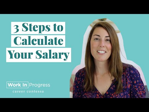 How To Research Your Salary (How To Calculate Your Salary)