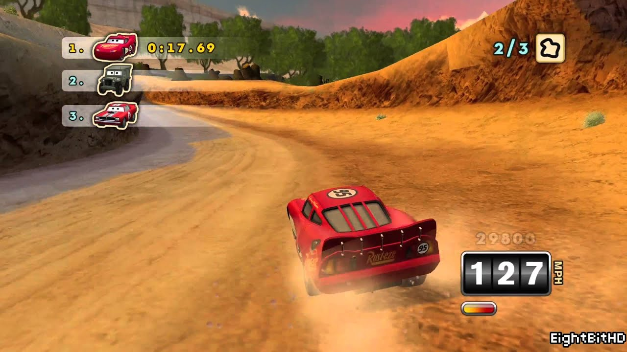 Cars Mater National  Full Walkthrough Game HD
