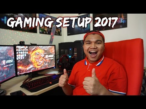 Oohami Gaming Setup 2017 (Malaysia)