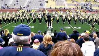 Michigan Marching Band - Stayin' Alive and Night Fever