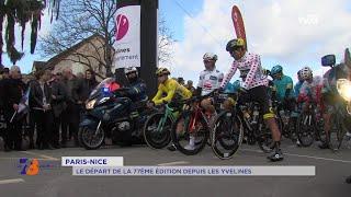 Sport : Départ du Paris-Nice à Saint-Germain-en-Laye
