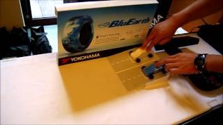 yokohama bluearth環保省油輪胎滑行測試
