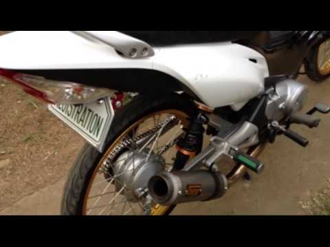 Stock Wave 125 And Modified Xrm 125cc