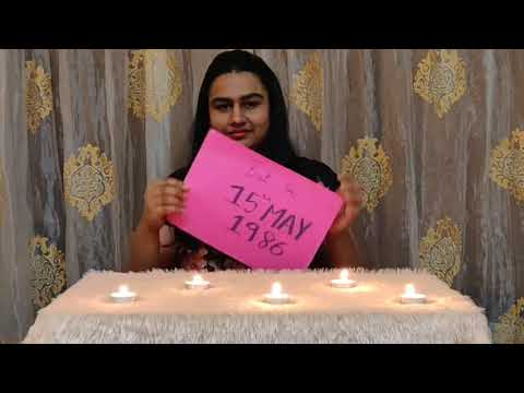 Reverse birthday wishing video for Harshal