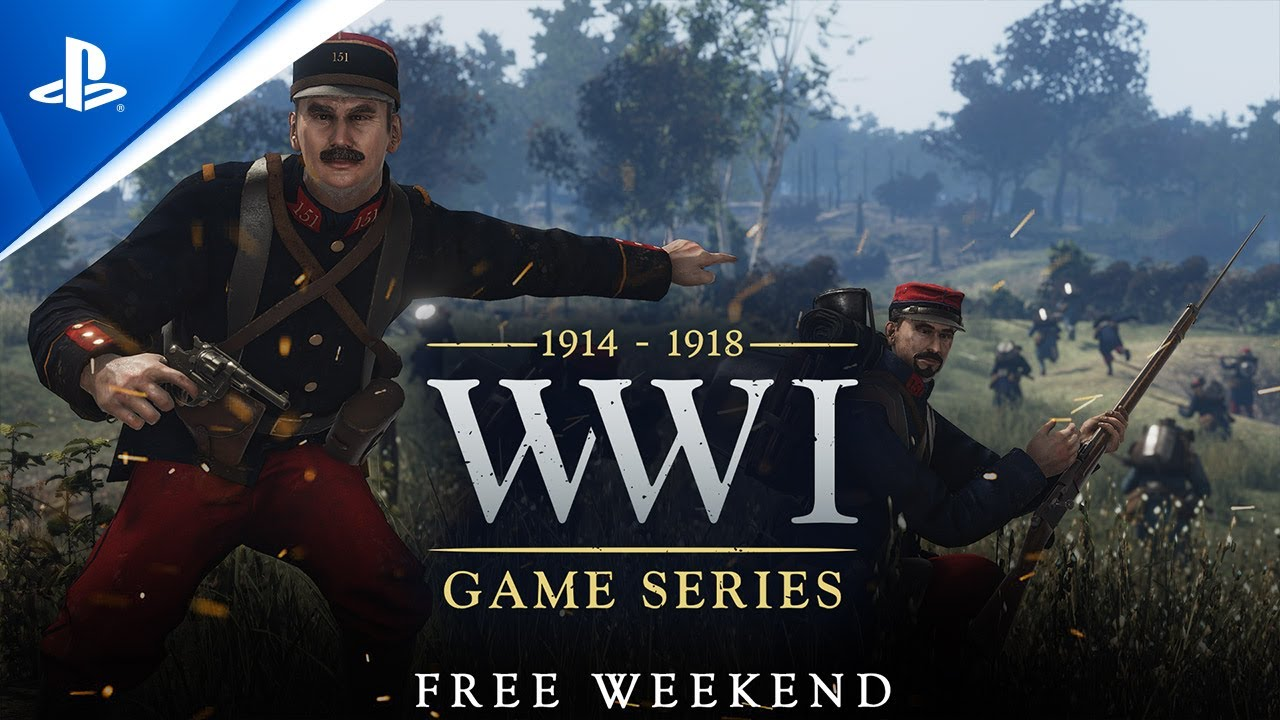 WW1 - Verdun and Tannenberg Free Weekend I PS5, PS4