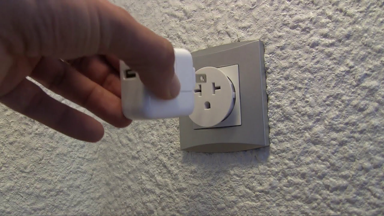 French Electrical Plug Adapters - YouTube