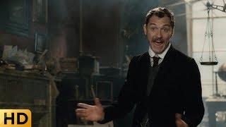 Ватсон нарушает застой Холмса. Шерлок Холмс 2009.