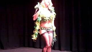 Ivana Stabovitch Bombs Away Cabaret Specialest Spinach (Weed) Asheville NC Thumbnail