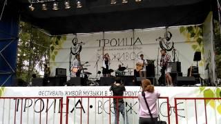 Даша Шульц на фестивале живой музыки Троица - всё живое 2015 г.Электроугли
