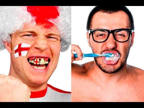 Inglês escova os dentes??? =/ Gisele de Curitiba em Londres