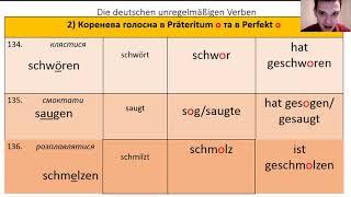 Німецька мова. +79 неправильних дієслова. Відео №2. Unregelmäßige Verben (Ukrainische Übersetzung)