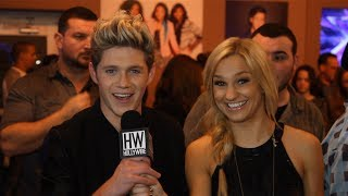 ONE DIRECTION INTERVIEW: Funny Impersonations + Harry Photobomb!