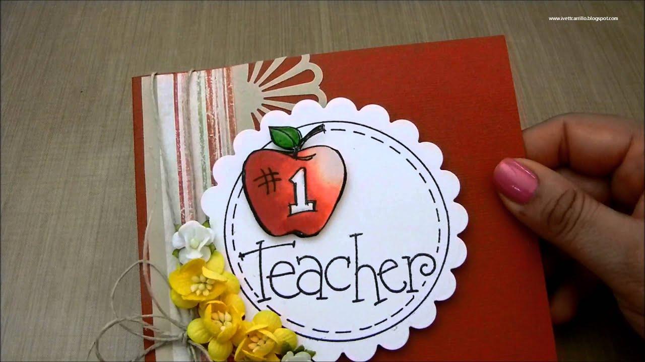 Easy Handmade Birthday Cards For Teachers Labzada Wallpaper