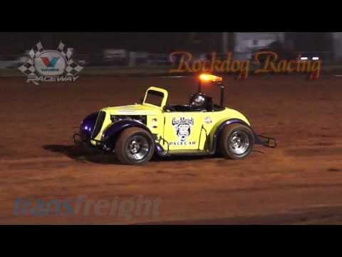 Legend Cars - Who Are You? - Valvoline Raceway - Rockdog Racing Videos