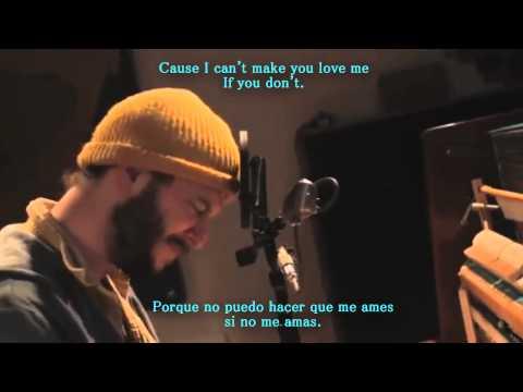 Bon Iver - I Can't Make You Love Me sub ENG - ESP