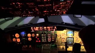 Boeing 737-400 engine failures in Full Flight Simulator