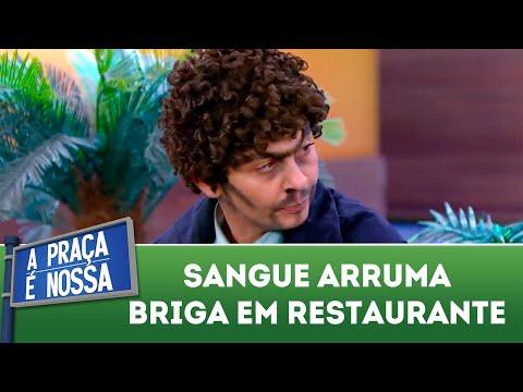 Sangue arruma confusão em restaurante | A Praça é Nossa (09/08/18)