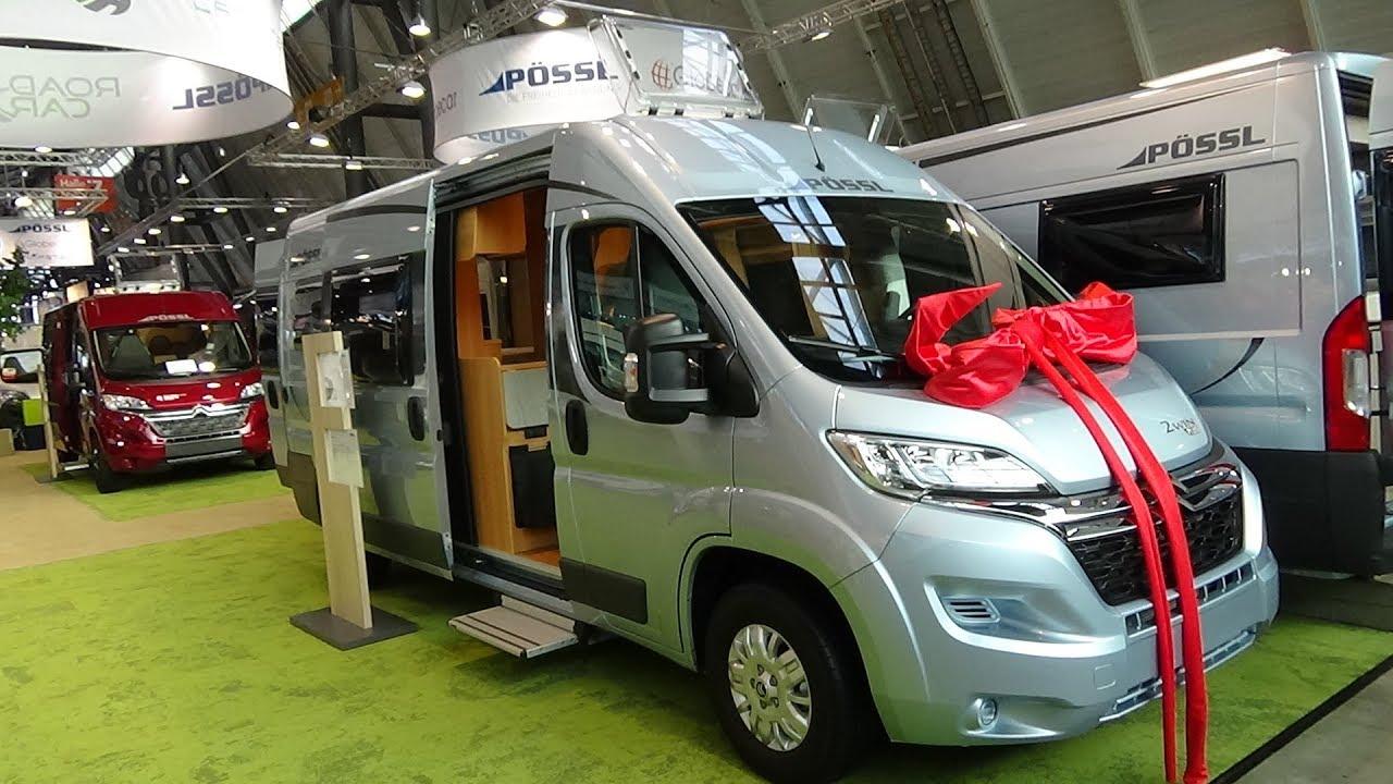 10 Pössl 10Win Plus Citroen Jumper - Exterior and Interior - Caravan Show  CMT Stuttgart 10018