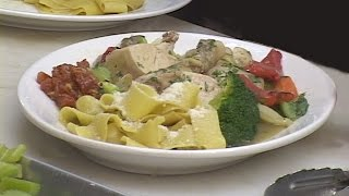 Chicken In The Pot With Noodles