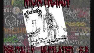 Watch Mortician Brutally Mutilated video