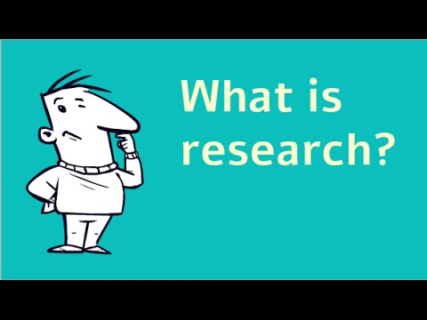 Research Methods/Types of Research - Wikibooks, open books for an open world